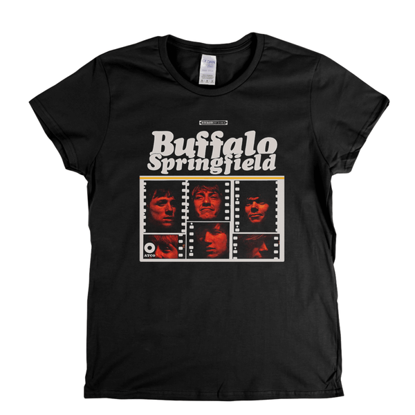 Buffalo Springfield Album Womens T-Shirt
