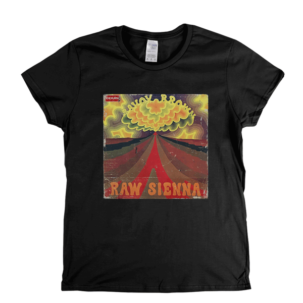 Savoy Brown Raw Sienna Womens T-Shirt