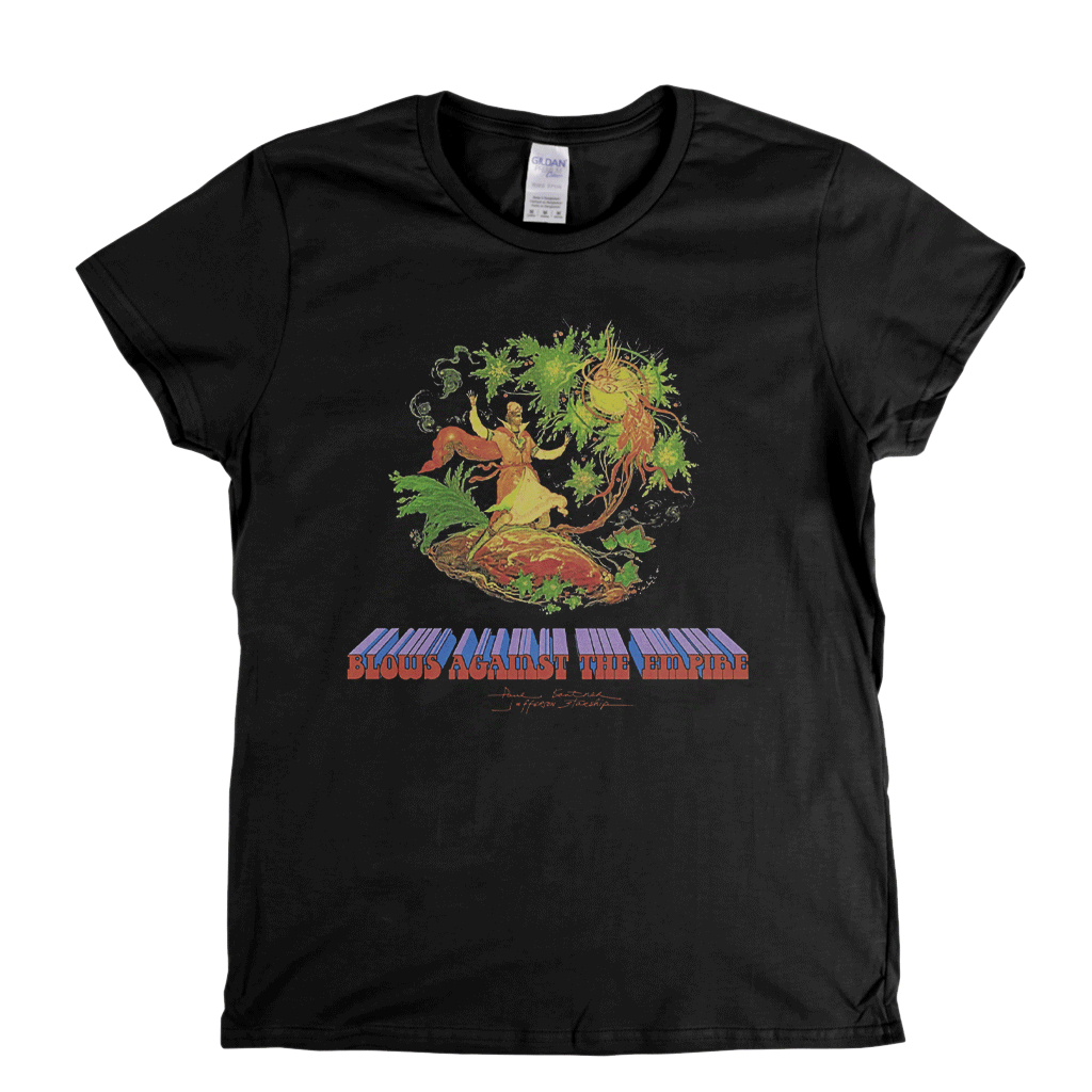 Paul Kantner Jefferson Starship Blows Against The Empire Womens T-Shirt