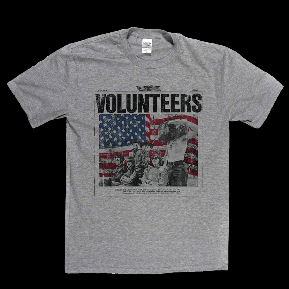 Jefferson Airplane Volunteers T-Shirt