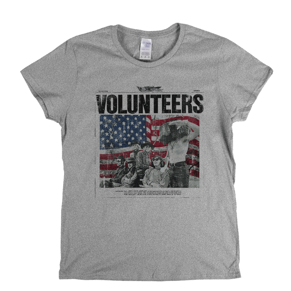Jefferson Airplane Volunteers Womens T-Shirt