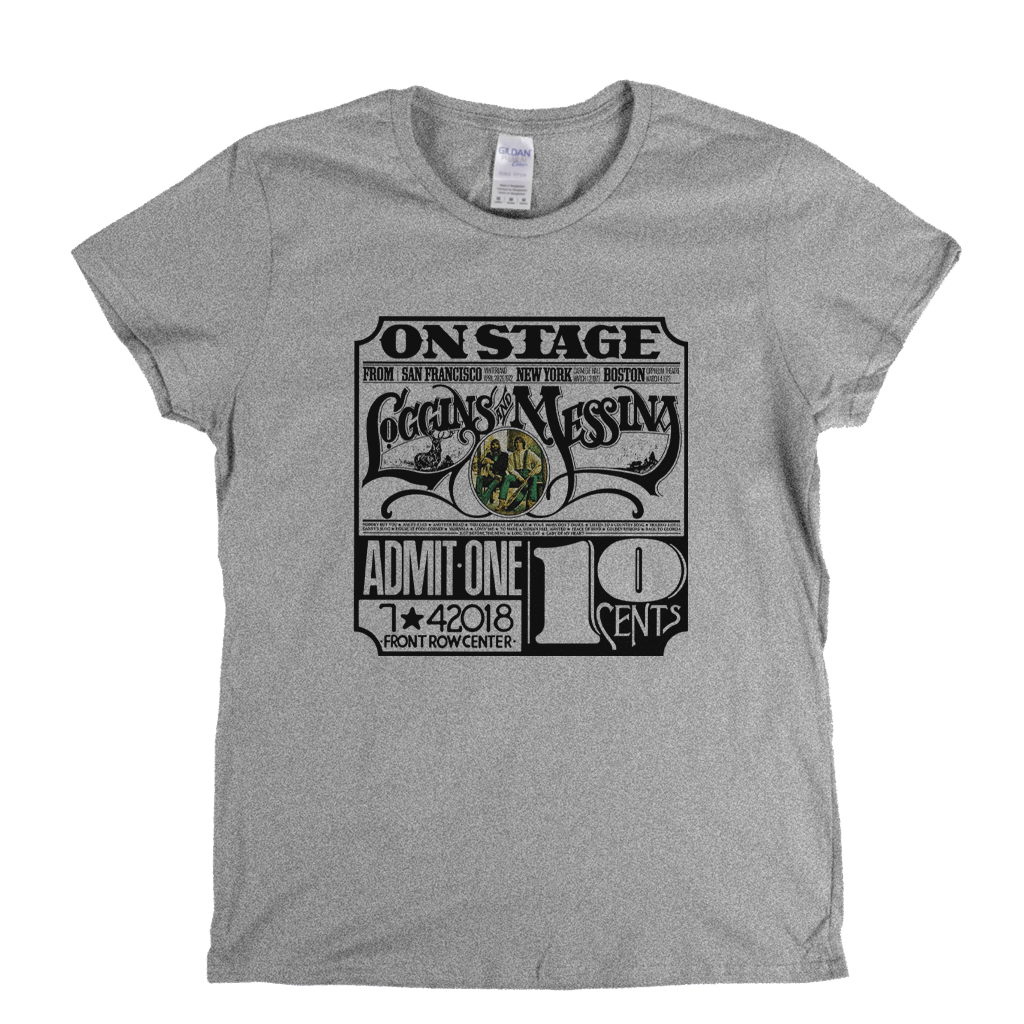 Loggins And Messina Womens T-Shirt
