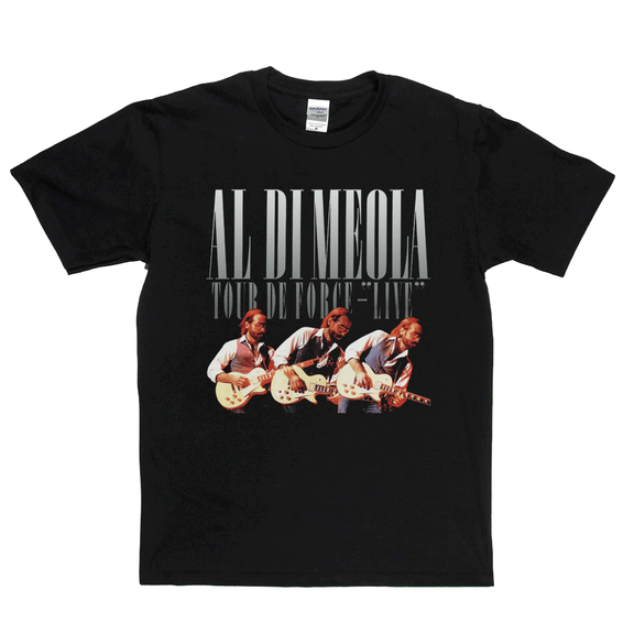 Al Di Meola Tour De Force Live T-Shirt