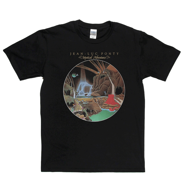 Jean Luc Ponty Mystical Adventures T-Shirt
