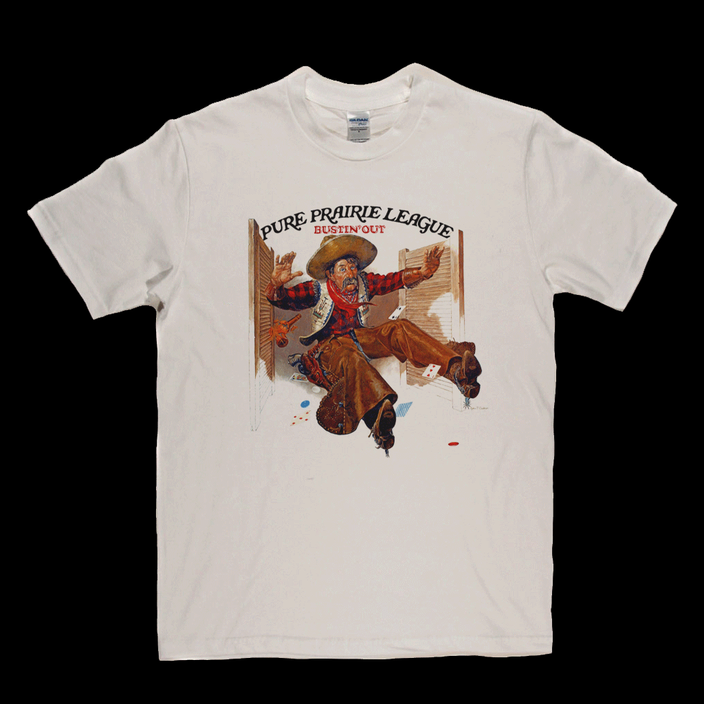 Pure Prairie League Bustin Out T-Shirt