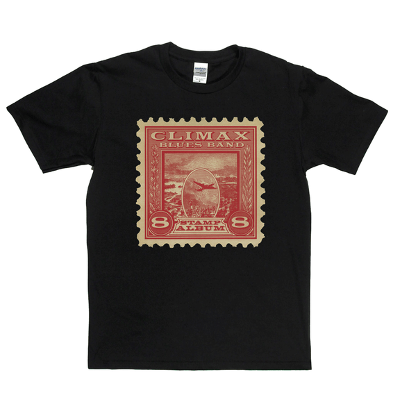 Climax Blues Band Stamp Album T-Shirt
