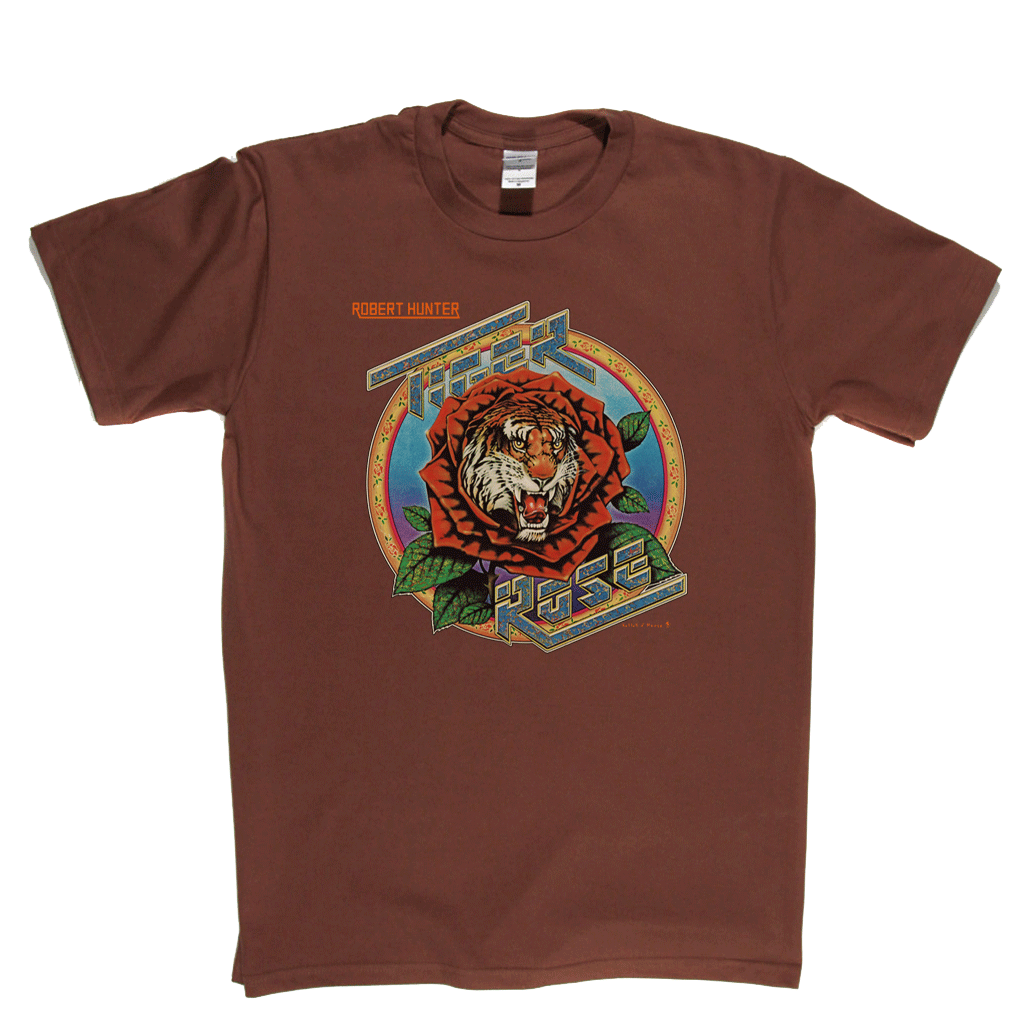 Robert Hunter Tiger Rose T-Shirt