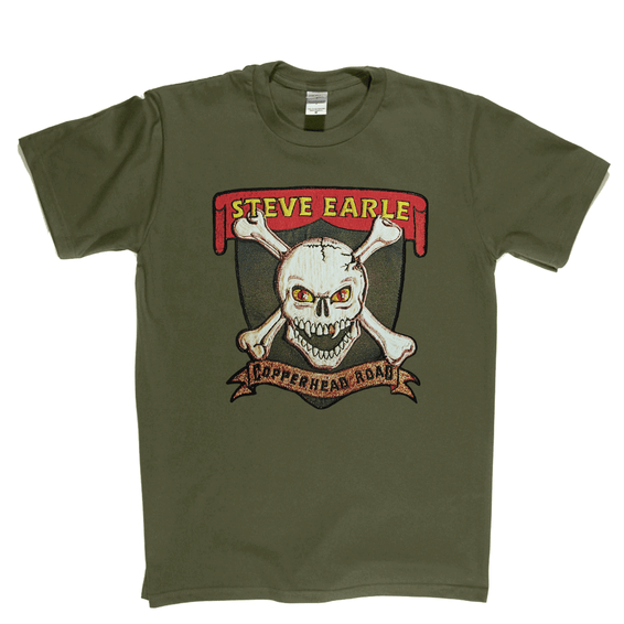 Steve Earle Copperhead Road T-Shirt