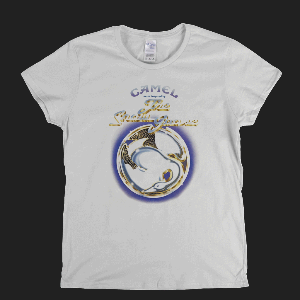 Camel The Snow Goose Womens T-Shirt