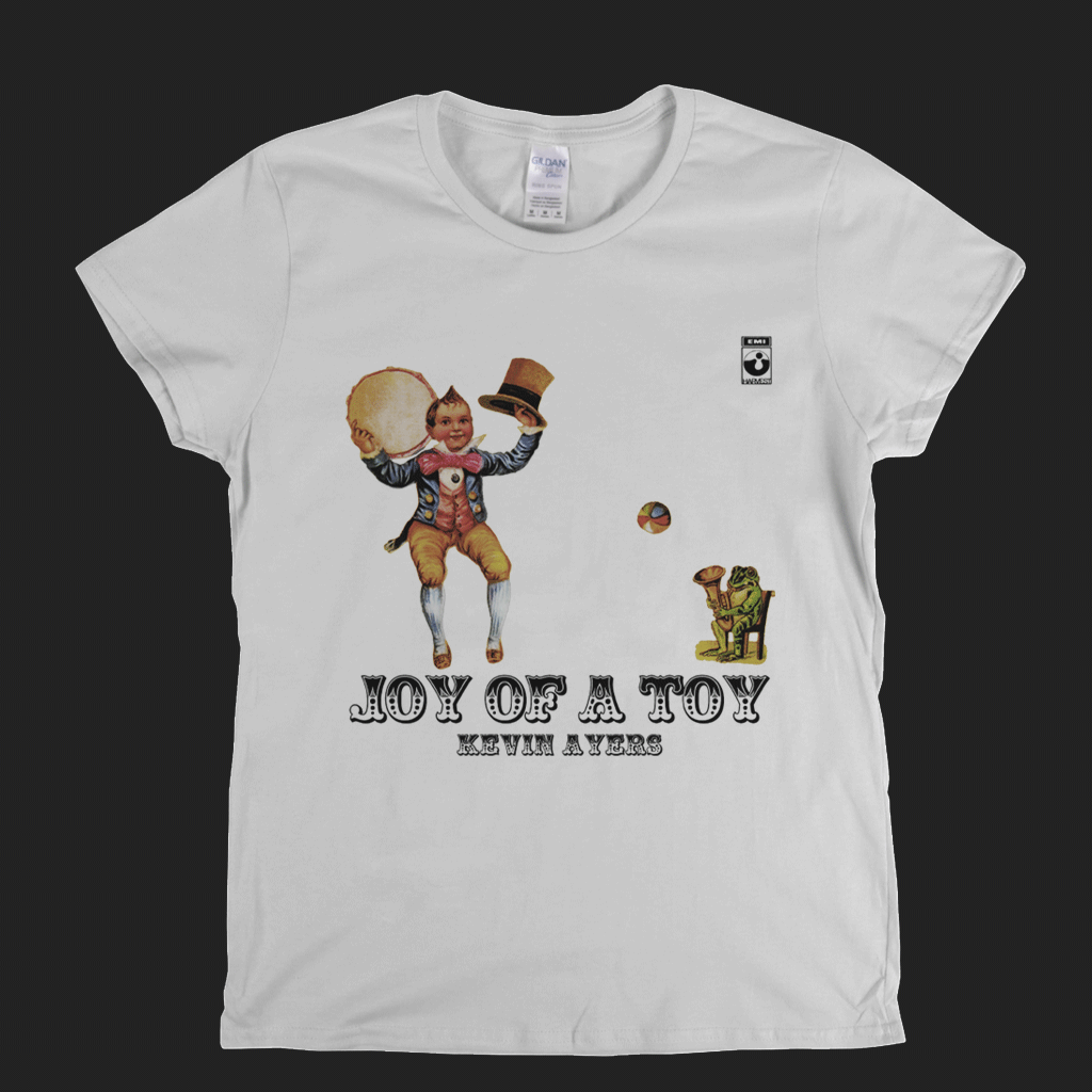Kevin Ayers Joy Of A Toy Womens T-Shirt