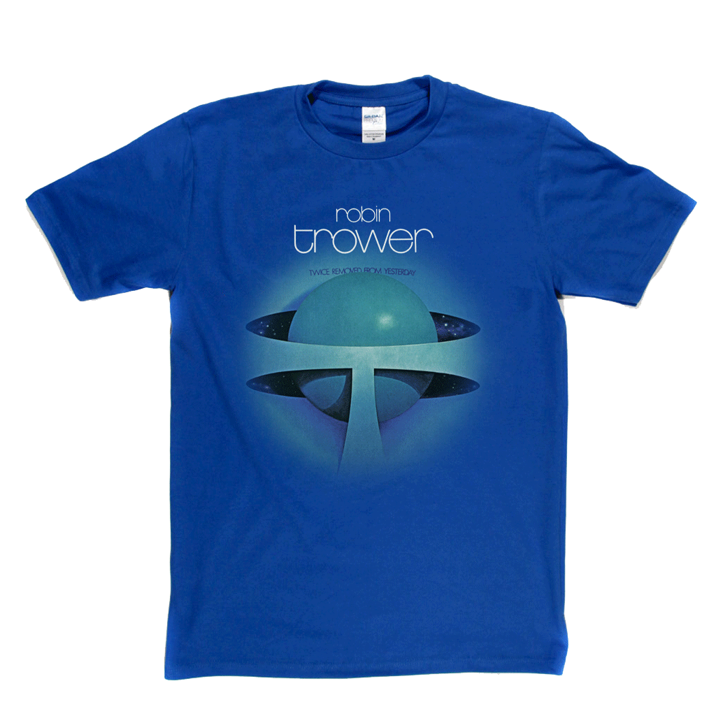 Robin Trower Twice Removed From Yesterday T-Shirt