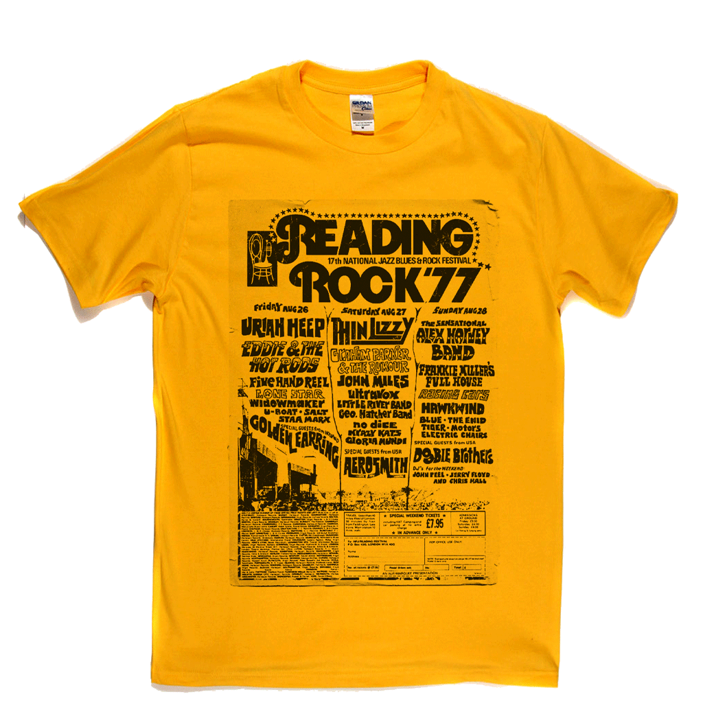 Reading Rock 77 Poster T-Shirt
