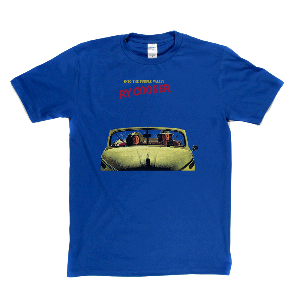 Ry Cooder Into The Purple Valley T-Shirt
