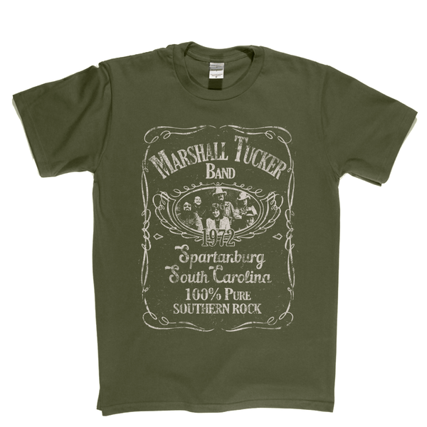 The Marshall Tucker Band Liquor Label T-Shirt