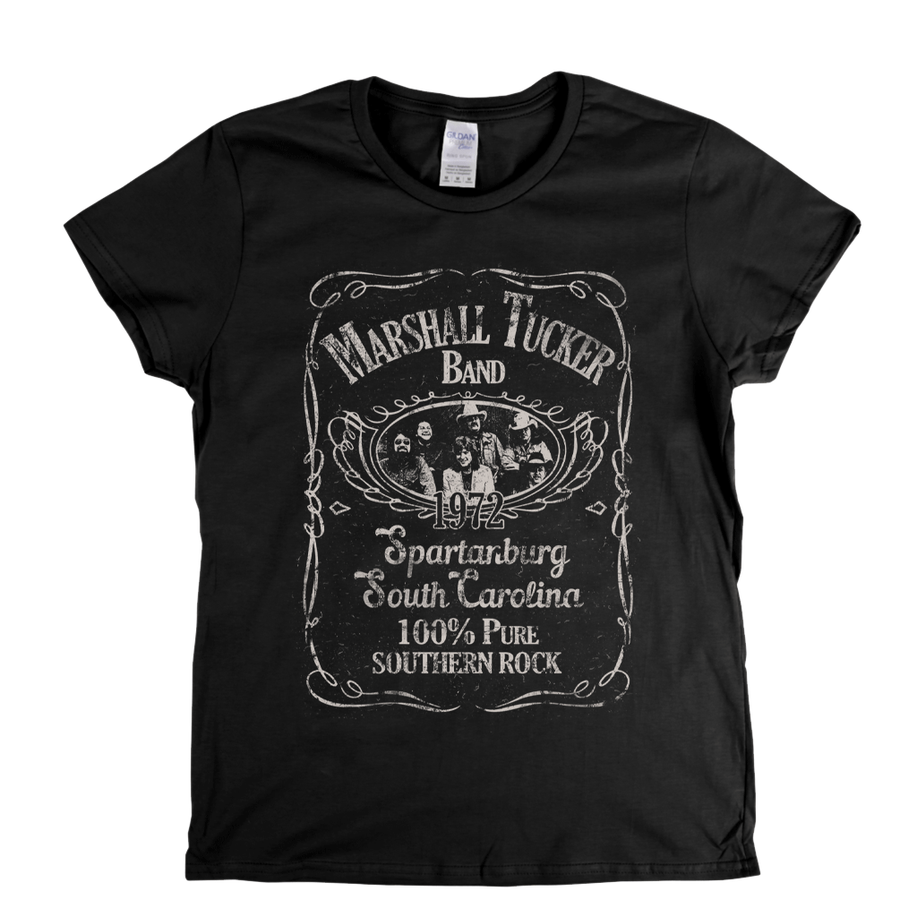 The Marshall Tucker Band Liquor Label Womens T-Shirt