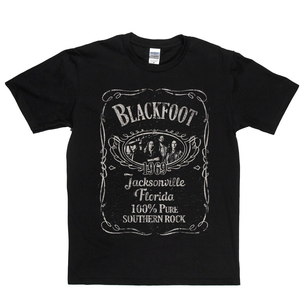 Blackfoot Liquor Label T-Shirt