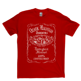 Ozark Mountain Daredevils Liquor Label T-Shirt