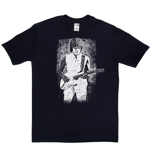 Jeff Beck Print T Shirt