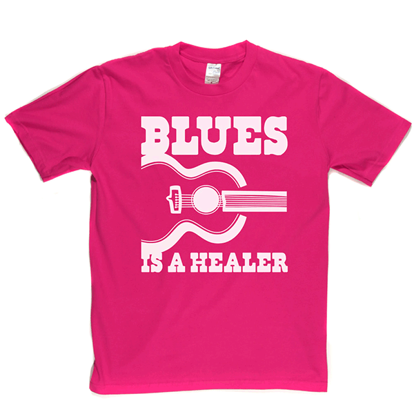 Blues Is A Healer T-shirt