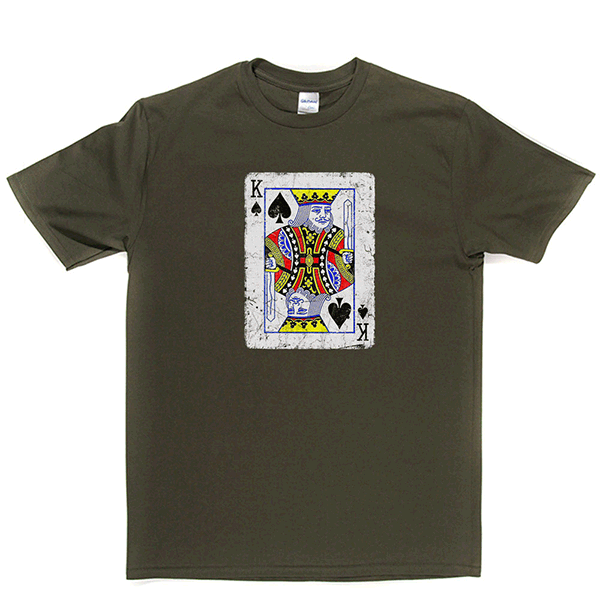 King of Spades T Shirt