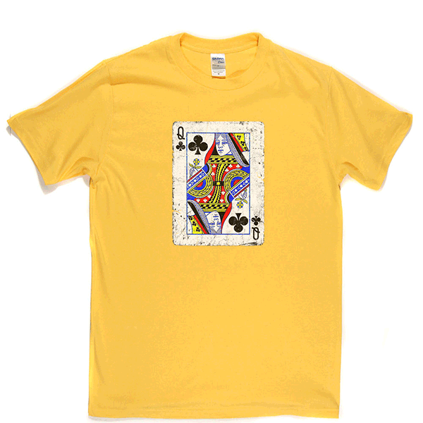 Queen of Clubs T Shirt