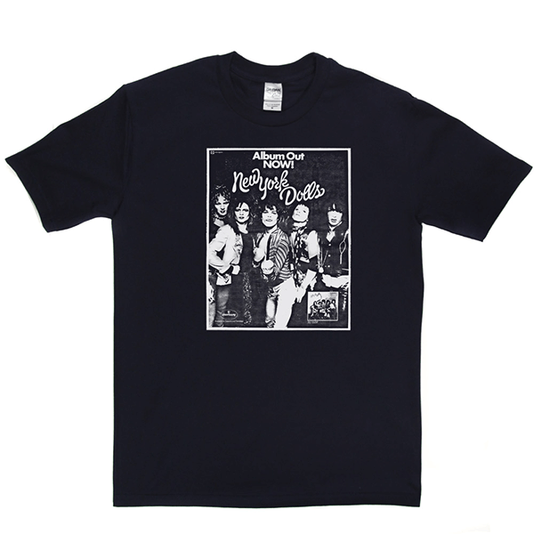 New York Dolls Out Now T Shirt