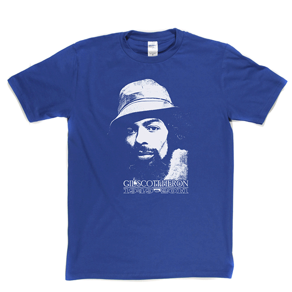 Gil Scott Heron 1949 2011 T-shirt