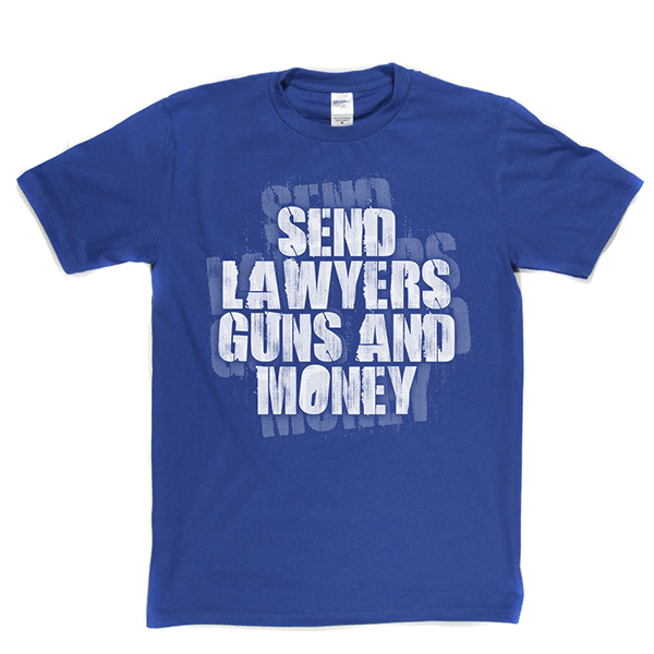 Warren Zevon - Send Lawyers Guns And Money T-shirt