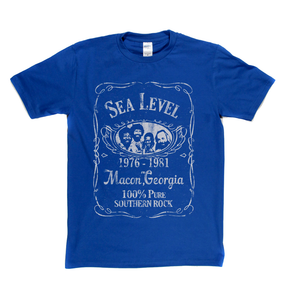 Sea Level Liquor Label T-Shirt