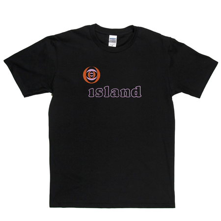Island Record Label Logo T-Shirt