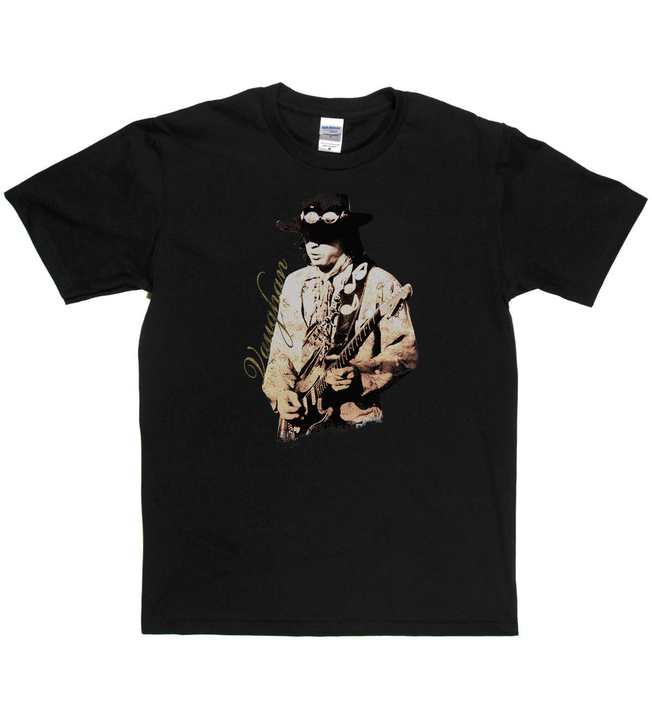 Stevie Ray Vaughan Live T Shirt