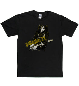 Rory Gallagher 72 Remixed T Shirt