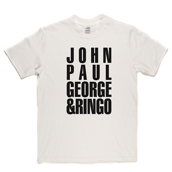 John Paul George and Ringo T-shirt