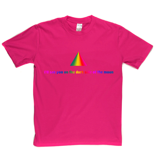 Dark Side Moon Rainbow T Shirt