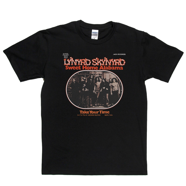 Lynyrd Skynyrd Sweet Home Alabama T-Shirt