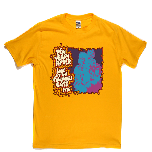 Ten Years After Live At The Fillmore East T-Shirt