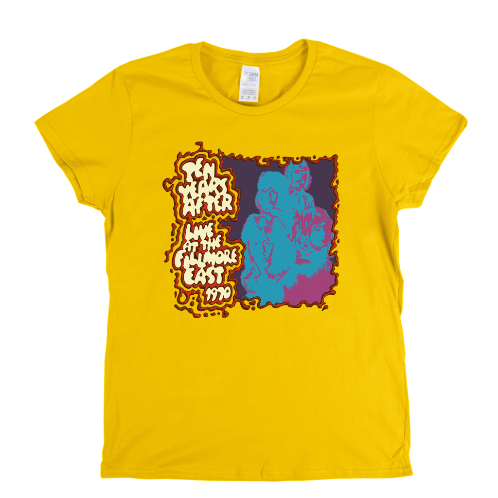 Ten Years After Live At The Fillmore East Womens T-Shirt