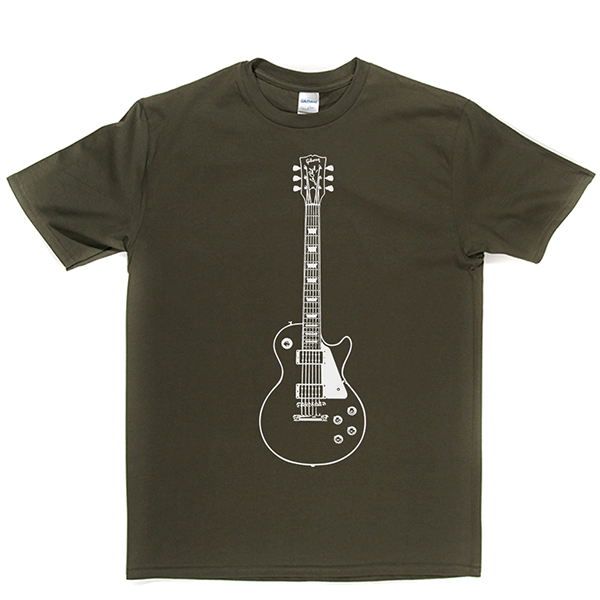 Guitar Les Paul T Shirt