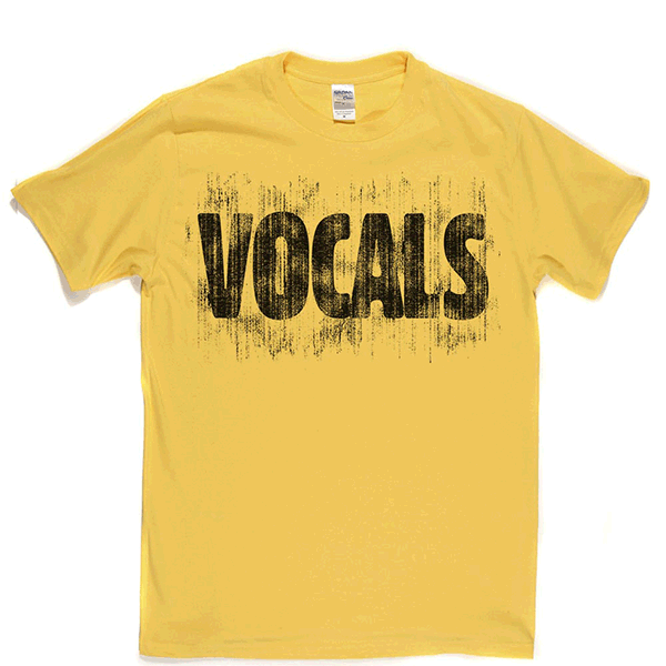 Vocals T Shirt