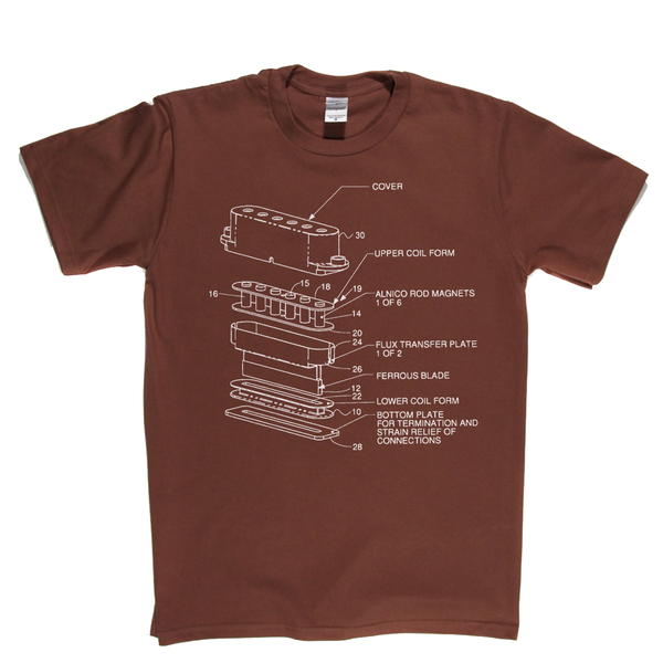 Guitar Pickup T-Shirt