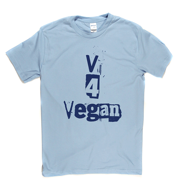 V 4 Vegan T Shirt