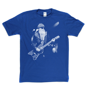 ZZ Top Billy Gibbons T-shirt