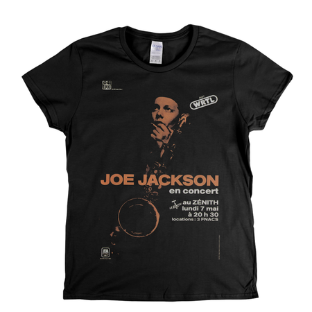 Joe Jackson Poster Womens T-Shirt