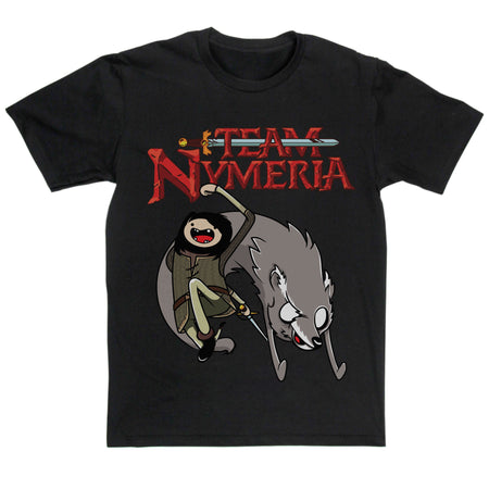 Team Nymeria T Shirt Inspired By Game Of Thrones