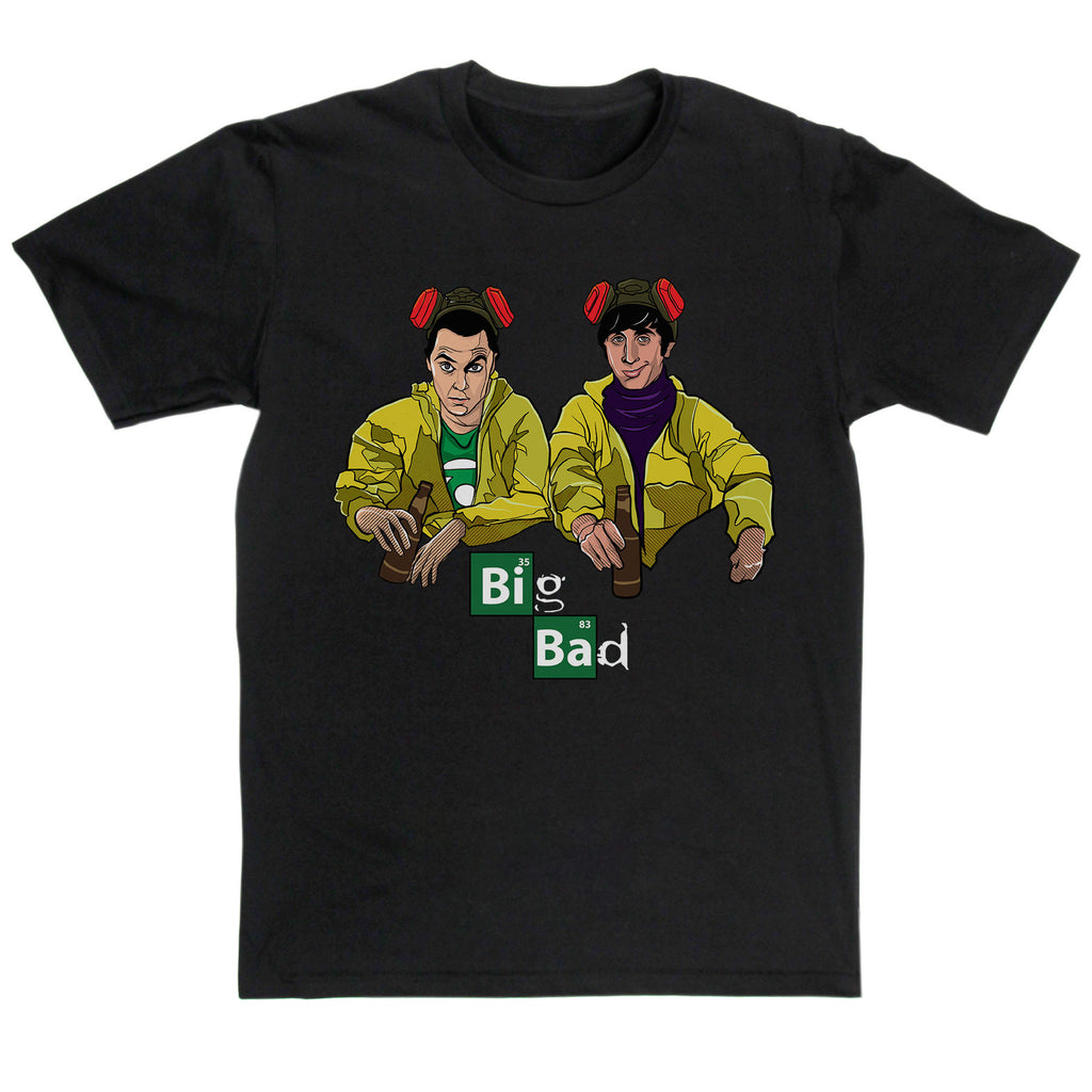 Big Bad Mashup T Shirt Inspired By Breaking Bad & Big Bang Theory