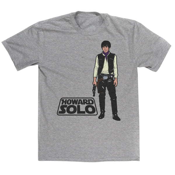 Howard Solo Mashup T Shirt Inspired By Big Bang Theory & Star Wars