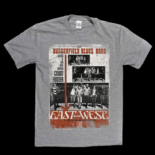 Butterfield Blues Band East West Poster T-Shirt