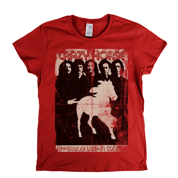 Crazy Horse Poster Womens T-Shirt