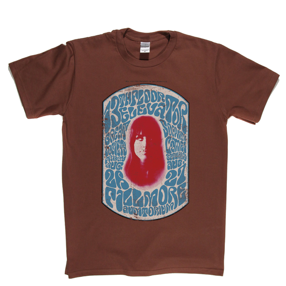 Grace Slick Fillmore Poster T-Shirt
