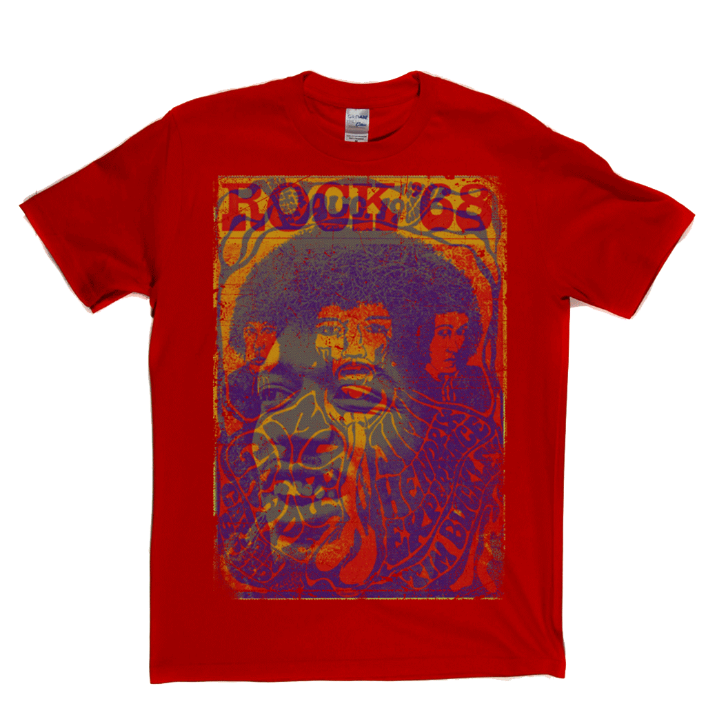 Hendrix Rock 68 T-Shirt